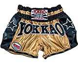 YOKKAO Muay Thai Boxing Shorts, Many Styles & Colors (CarbonFit - Monster, Small)