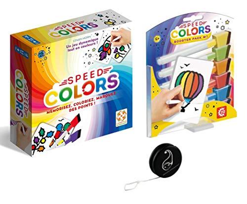 Set di 2 giochi Speed Colors + estensione Booster Pack + Yoyo Blumie