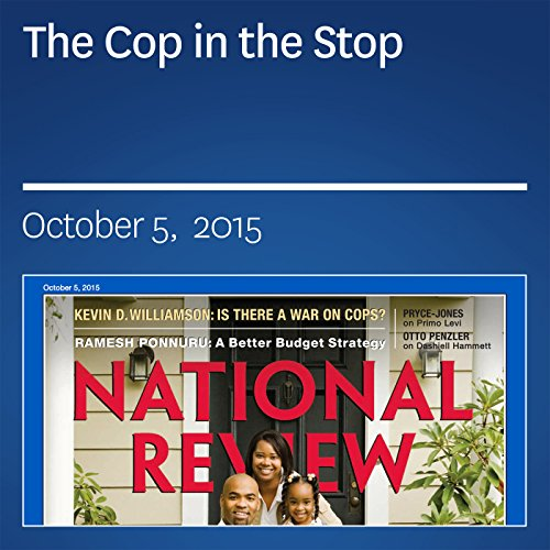 The Cop in the Stop audiobook cover art