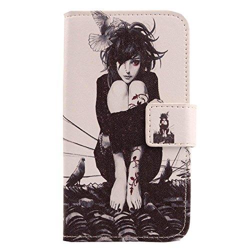 Lankashi PU Flip Stand Leder Tasche Hülle Hülle Cover Wallet Schutz Handy Etui Skin Für Elephone S1 5