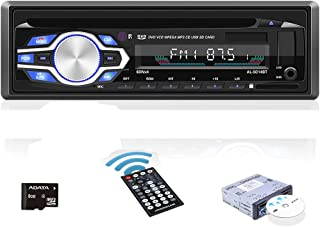 $65 » UNITOPSCI Car Stereo DVD Player Single Din Car Radio with Bluetooth Audio and Hands-Free Calling CD/VCD/DVD/Auxiliary/USB/...