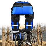 Tuimiyisou 70L hinten Fahrrad-Beutel-wasserdichte Fahrradtasche Taschen 3 in 1 Fahrrad-Sattel-Beutel mit Regen Abdeckung für Reisen Wandern