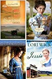 Set of 4 Christian Romance Books; Jessie, Lady of Milkweed Manor, Love on Assignment and Love Finds You in Sugarcreek Ohio