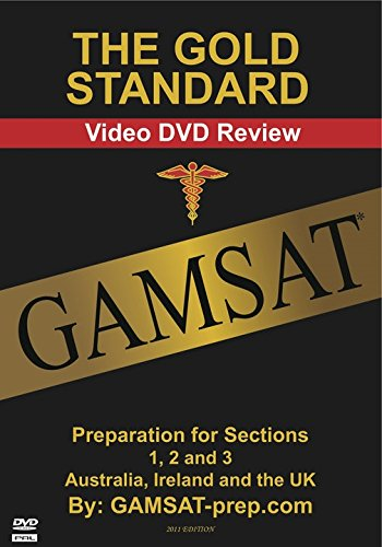 Gold Standard Gamsat Video DVD Review: Preparation for Sections 1, 2 and 3 (Australia, Ireland and the UK)