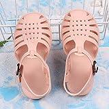 WENHUA Zapatos de Playa y Piscina para Hombre Baño, Suave Bañarse Sandalias Zapatillas, 2021 Nuevas Zapatillas para niños, Hombres y Mujeres se Pueden Barrer, Pink_40