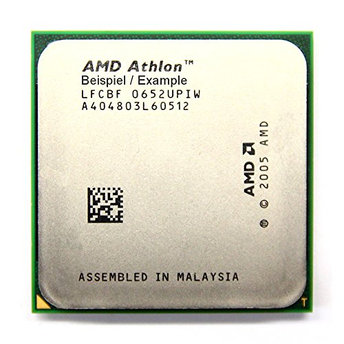 AMD Athlon X2 7750 Black Edition 2.7GHz/1MB Sockel/Socket AM2+ AD775ZWCJ2BGH CPU (Zertifiziert und Generalüberholt)