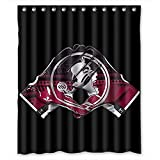 Aloundi Shower Curtain,IYogurt FSU Seminoles Bathroom