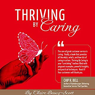 Thriving by Caring                   By:                                                                                                                                 Claire Boscq-Scott                               Narrated by:                                                                                                                                 Sandrine Dorde                      Length: 4 hrs and 22 mins     1 rating     Overall 5.0