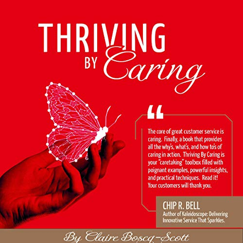 Thriving by Caring cover art