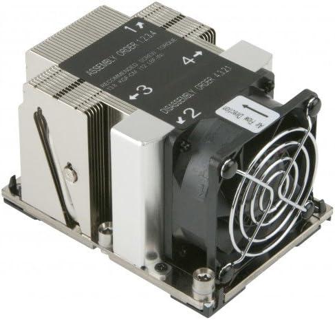 Supermicro SNK-P0068APS4 - Ventilador de PC (Procesador, Disipador térmico, LGA 3647 (Socket P), Intel® Xeon®, 6 cm, 2U)