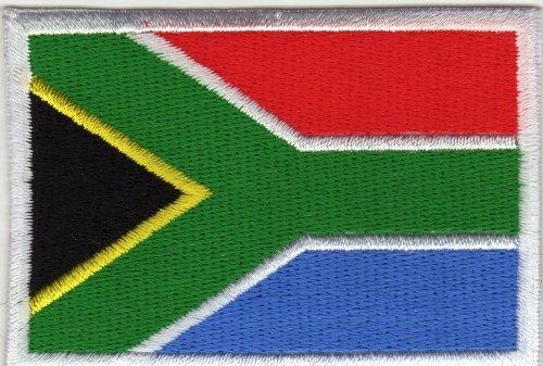 Bügelbild Aufnäher Patch Flagge Fahne Südafrika Land South Africa