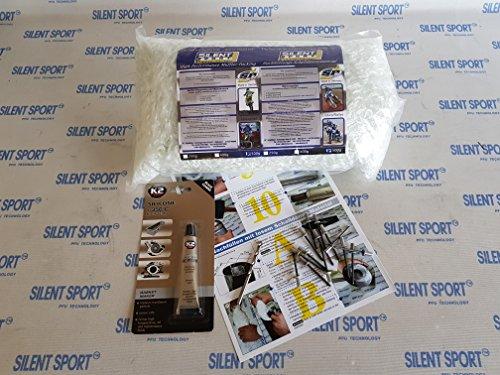 Silent Sport PREMIUM Schalldämpfer/Auspuff Service-Set - alles zum neu Stopfen
