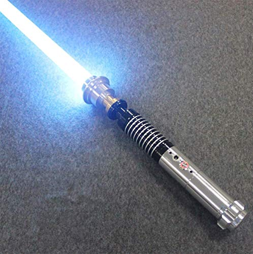 Sabre Laser de Haute qualité Dueling Saber pour Skywalker, Cadeau pour Enfants et Adultes (Blue)