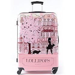 valise rose pour un look tr s girly valise enfant. Black Bedroom Furniture Sets. Home Design Ideas