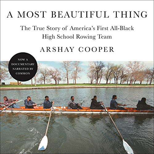 A Most Beautiful Thing audiobook cover art