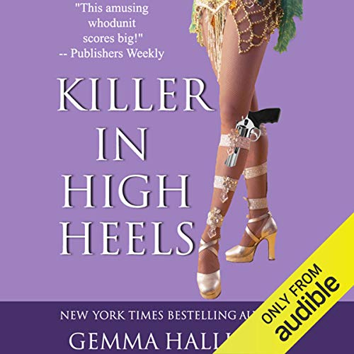 Killer in High Heels audiobook cover art