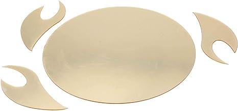مرآة تلصق على الحائط بتصميم 3 دي من الاكريليك، ديكور منزلي تثبته بنفسك، تستخدم في المطبخ او غرفة المعيشة او كخلفية ديكور للتلفاز ذهبي