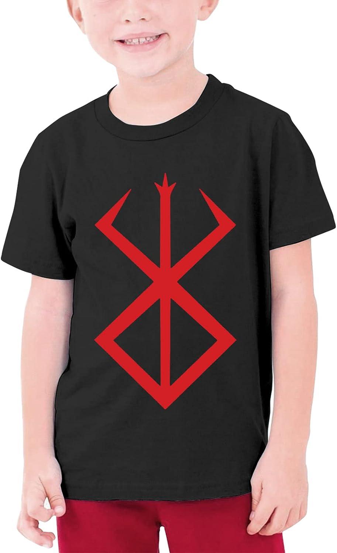 Berserk Shirt Short Sleeve Top Girls Boys Graphic Sweatshirt Teenage T Shirt