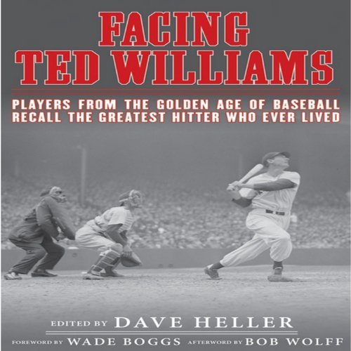 Facing Ted Williams audiobook cover art