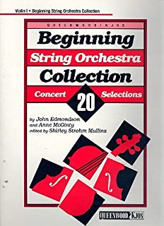 Beginning String Orchestra Collection - Violin 1