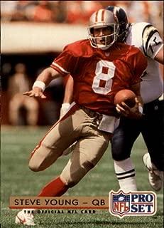 1992 Pro Set Football Card #323 Steve Young