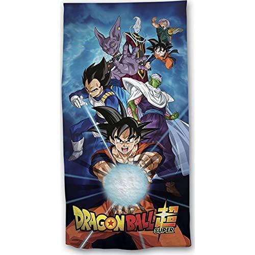 Grenadine Boutique – Toalla de baño Dragon Ball Z – Toalla de playa Dragon Ball Super – Vegeta, Gokû & Co
