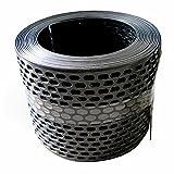 Traufgitter 150 mm schwarz/Rolle a 5 lfm