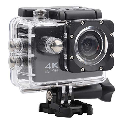 Videocamera, Action Cam Ricaricabile, Fotografia Automatica con Custodia Impermeabile con Kit di Estensione per Fotografia Subacquea all'aperto