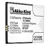 Akku-King Akku kompatibel mit Zopo BT55T - Li-Polymer 2700mAh - für 3X, 9530, ZP998, ZP999
