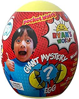 Ryan's World Toys Surprise Mystery Giant Egg, Yellow