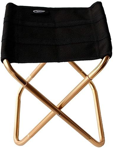 NIUZIMU Canvas Bold Thick Metal Tabouret De Pêche en Plein Air Chaise Pliante Ultra Léger Portable Chaise De Pique-Nique en Aluminium Tabouret De Camping Petite Mazar