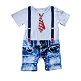 Le SSara Baby Boys' Rompers