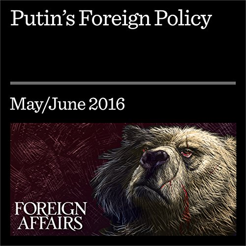 Putin's Foreign Policy audiobook cover art