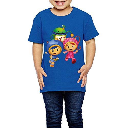 MOMI&BB Team Umizoomi Kids Boy Girl Youth T Shirt RoyalBlue