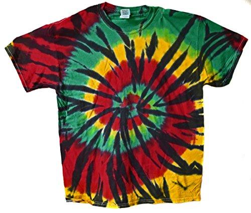 Tee Shirt Rasta Jamaique psychedelique 70 Seventies Taille L Reggae bob