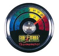 For monitoring terrarium temperature levels Easy to read and install Easy to read and install Model number: 54411