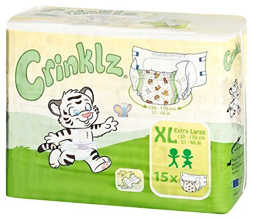 Crinklz Windeln mit Motiv - X-Large (15 Stück)
