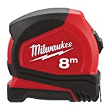 Milwaukee 4932459594 932459594 Pro Compact Tape Measure 8m (Width 25mm) (Metric Only)