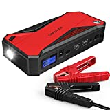 DBPOWER 600A 18000mAh Portable Car Jump Starter (up to 6.5L Gas, 5.2L Diesel Engine)...