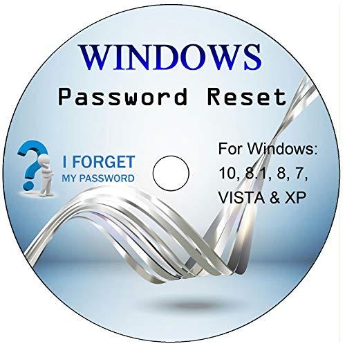 ✅ Windows Mot De Passe Réinitialiser / Effacer / Reset / Recovery CD - Compatible Avec Tous Les Windows