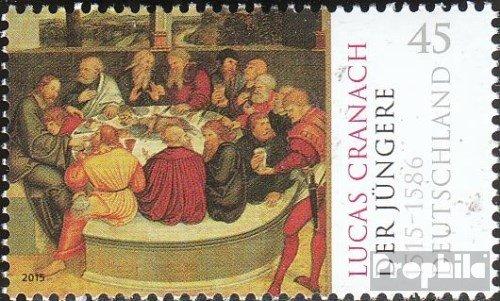 RFA (FR.Allemagne) mer.-no.: 3181 (complète.Edition.) 2015 Lucas cranach (Timbres pour Les collectionneurs) Peinture