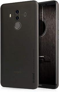 Huawei Mate10 Pro ケース memumi® 超薄型・0.3㎜の スリム 指紋防止 PP Case ファーウェイ Mate10 Pro カバー (クリアブラック)