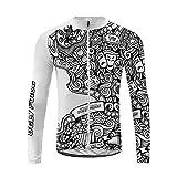Uglyfrog Slj47 - Camiseta de ciclismo para hombre, manga larga, primavera, otoño, Hombre, color Couleur 04, tamaño Taille 4X-Large