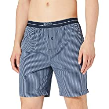 BOSS Urban Shorts Pantaln de Pijama, Dark Blue403, L para Hombre
