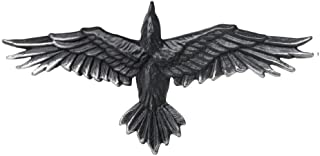 Alchemy Gothic Black Consort Handspan Raven Ring