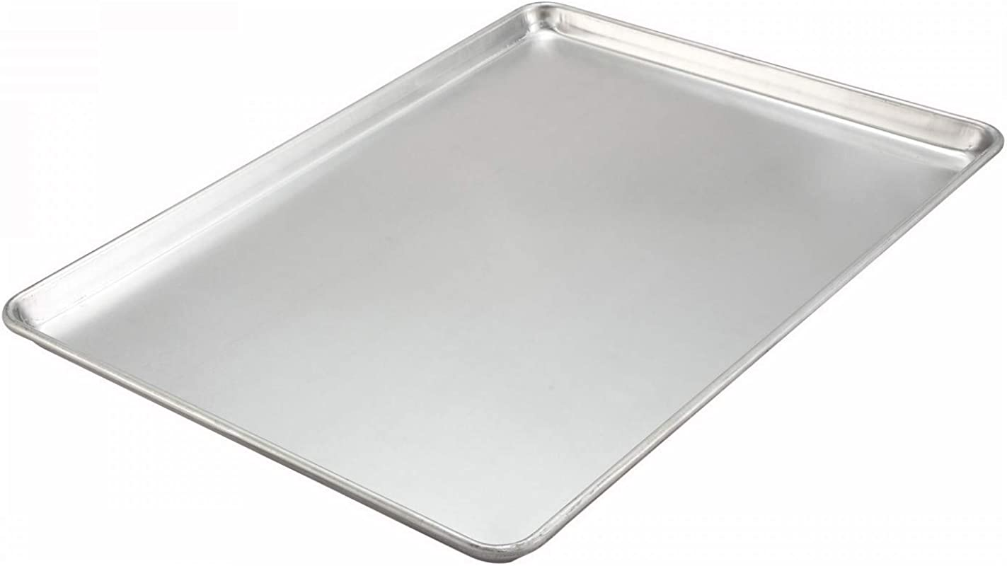 Winco ALXP 2216H 16x22 Rectangle Aluminum Sheet Pan 18 Gauge Baking Sheet
