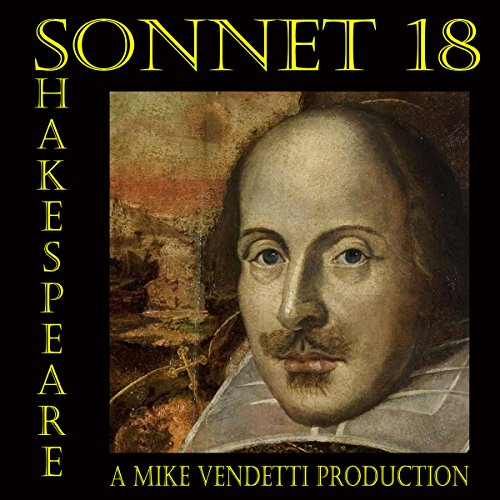 Sonnet 18 audiobook cover art