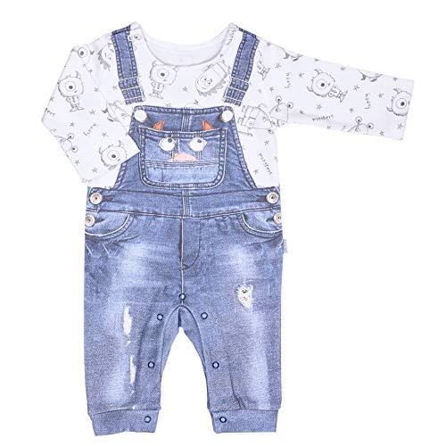 Sevira Kids - Pyjama bébé garçon en coton bio, P'TIT MONSTRE