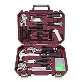 Conjuntos de herramientas para el hogar Conjunto multi herramientas Conjuntos de herramientas de propietario de vivienda Herramientas de reparación de inicio Herramientas de hardware HOGAR 18 Pieza Ki