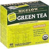 Bigelow Decaffeinated Organic Green Tea, 40 Count Box by Bigelow Tea